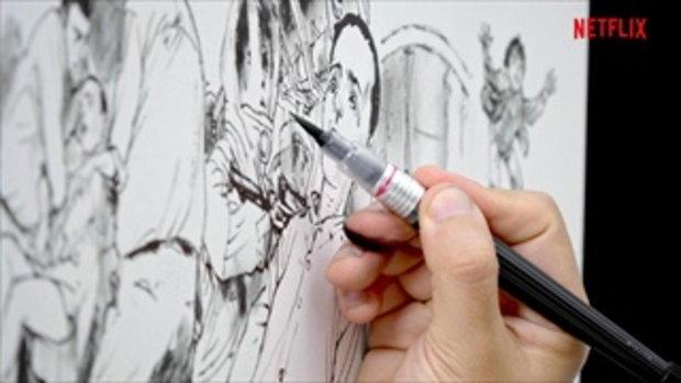 คิมจองกิ ศิลปินชื่อดังกับภาพวาดที่ได้แรงบันดาลใจจาก Stranger Things