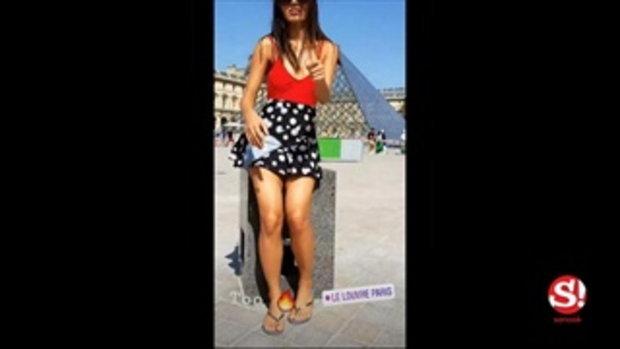 ติช่า เดอะเฟซ ทำหัวใจสั่นไหว โชว์ก้นรับลมในปารีส