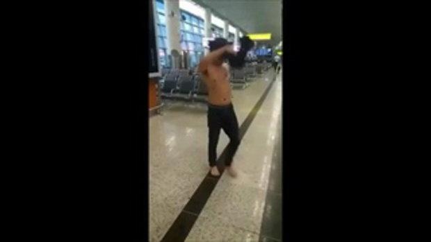 หนุ่มไทยหายตัวลึกลับที่รัสเซีย เปิดเบาะแสสุดท้ายคลิปเมาอาละวาดในสนามบิน