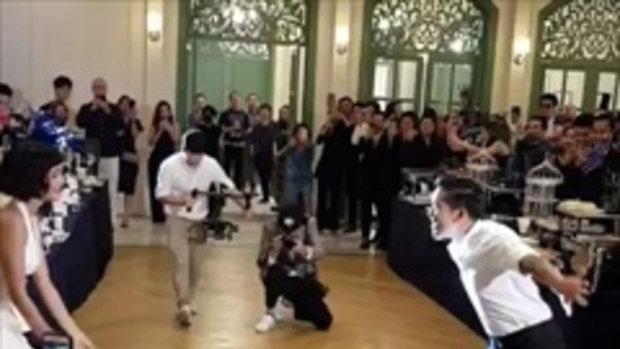 สายป่าน-วุฒิ โชว์สเต็ปเต้นรำในงานแต่งงาน