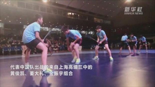 โลกทึ่ง! เด็กจีนพลังขามอเตอร์ กระโดดเชือก 143 ครั้งใน 30 วินาที
