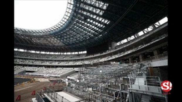 ญี่ปุ่นก็คือญี่ปุ่น! เผยโฉมภายในสนามกีฬาโอลิมปิกเกมส์ 2020