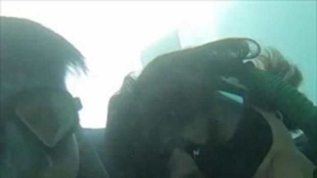ทะเลหวานไปเลย สายป่าน-วุฒิ จูบใต้น้ำ