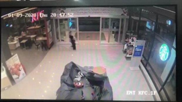 เปิดคลิปวงจรปิดนาทีคนร้ายชิงทองลพบุรีอุกอาจ ยิงกราดดับ3ศพ