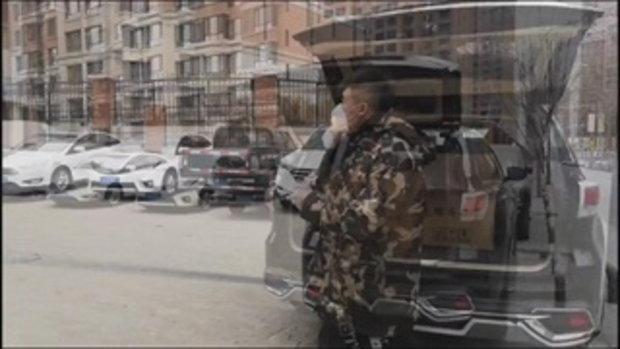 """ทหารผ่านศึกจีนควักกระเป๋าซื้อ """"หน้ากากอนามัย"""" แจกประชาชนไว้สู้ไวรัสโคโรนา"""