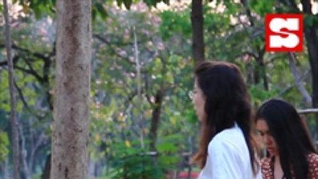 ซากุระกลางเมืองกรุง ดอกชมพูพันทิพย์เบ่งบานทั่วสวนรถไฟ