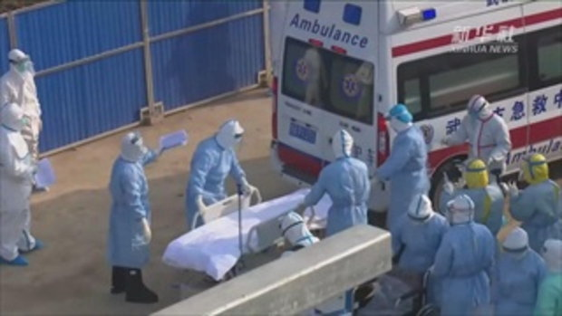 ไวรัสโคโรนา : รพ.หั่วเสินซาน รับผู้ป่วยไวรัสโคโรนาชุดแรกแล้ว
