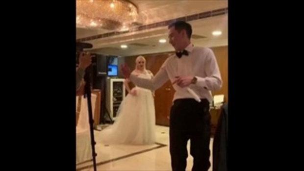 บรรยากาศงานแต่ง ฮาเวิร์ด หวัง