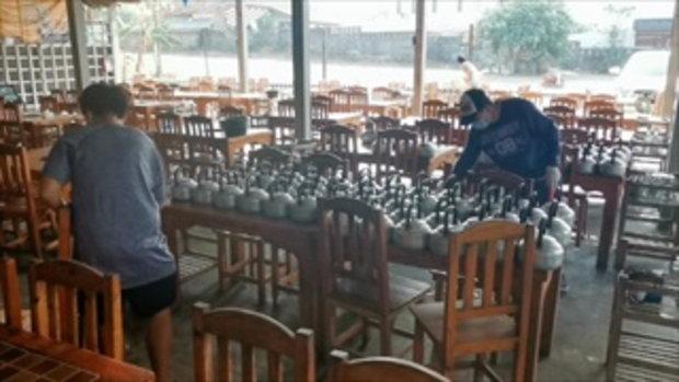 ผีน้อยกลับไทย ร้านหมูกระทะที่เชียงรายขอปิด 1 วัน ทำความสะอาดขนานใหญ่