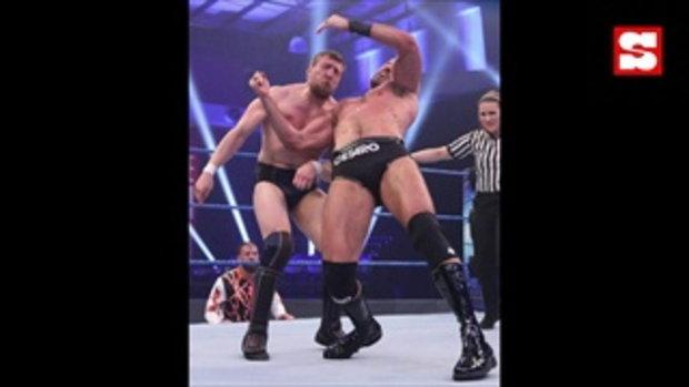 ภาพประวัติศาสตร์! มวยปล้ำ WWE ไร้แฟนเข้าชมป้องกันไวรัสโควิด-19