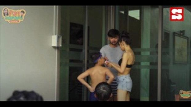 ซีนหวานผสมแซ่บ แพท ณปภา โชว์หุ่นจี๊ดควง ก๊อต แฟนหนุ่มเล่นน้ำในสระกันมุ้งมิ้ง