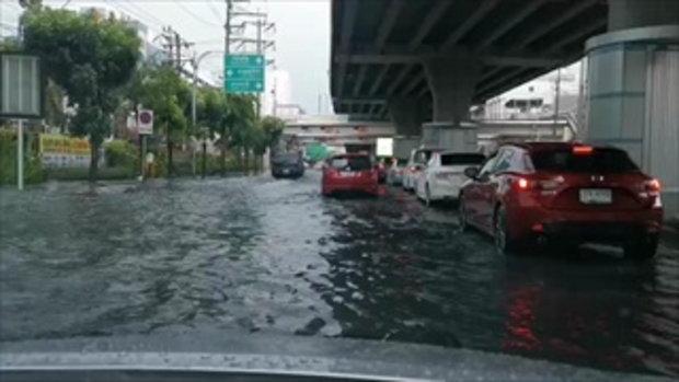 ฝนถล่มกรุง ทำน้ำท่วมขัง รัชดา-ลาดพร้าว (2)
