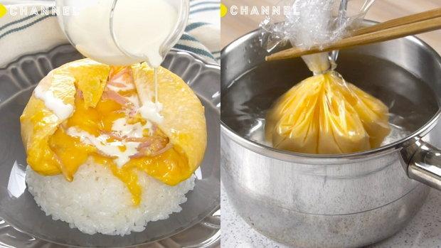 ข้าวไข่ข้น 3 เมนู อร่อยหรูจากหม้อต้มในครัวบ้าน