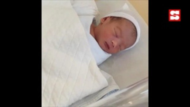 ดาต้า ดรัลชรัส คลอดลูกชาย ตั้งชื่อน่ารัก น้องเบต้า แก้มแดง หน้าเป๊ะตั้งแต่เกิด