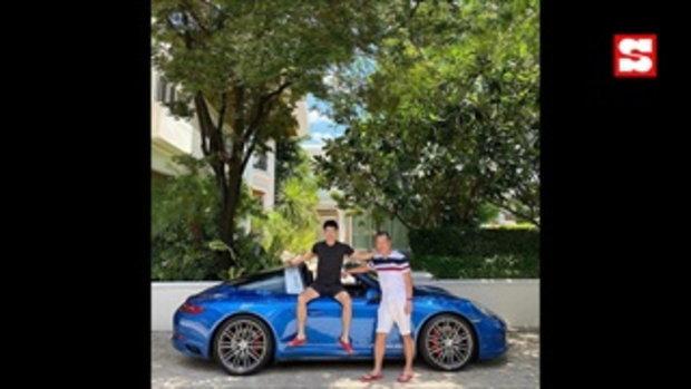 ท็อป ณัฐเศรษฐ์ ภูมิใจโชว์รถสปอร์ตหรู 13 ล้าน ซื้อให้พ่อขับเล่น