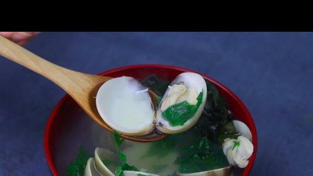ซุปใส Osuimono