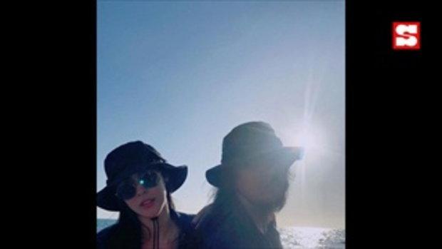 ภาพนี้ดีต่อใจ พีค ภัทรศยา ควง ต๊อด ศิณะ เที่ยวทะเล รีเทิร์นรักหวานกว่าเดิม