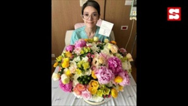 นิ้ง กุลสตรี ขอบคุณ เฮียฮ้อ ได้ดอกไม้ที่ชอบที่สุด และคำสั่งสอนตลอด 24 ปี
