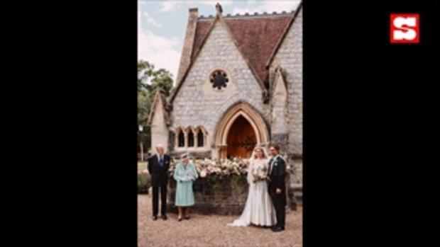 เจ้าหญิงเบียทริซ เข้าพิธีเสกสมรสแล้ว โดยสวมมงกุฎและชุดเดรสของควีนอังกฤษ