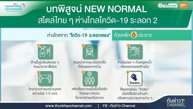 บทพิสูจน์ New Normal สไตล์ไทย ๆ ห่างไกลโควิด-19 ระลอก 2
