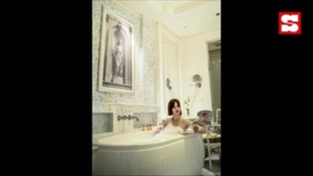แมน การิน ลงภาพ เกล รดา ภรรยากำลังรีดผ้า แห่โฟกัสชุดกันยกใหญ่