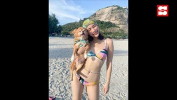 จันจิ จัดให้อีกชุด อวดหุ่นสวยกลางชายหาด ทั้งแซ่บ ทั้งสดใส ทำเอาสะดุดตา