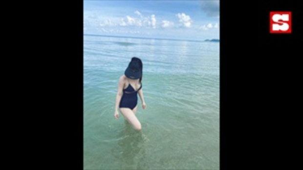 จียอน หุ่นเป๊ะเว่อร์ ปล่อยความแซ่บกลางทะเล ฮั่น ยังอดไม่ไหวที่จะต้องคอมเมนต์