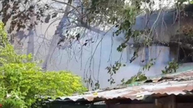ไฟไหม้เพิงพักคนงาน ซอยเพชรบุรีตัดใหม่ 47