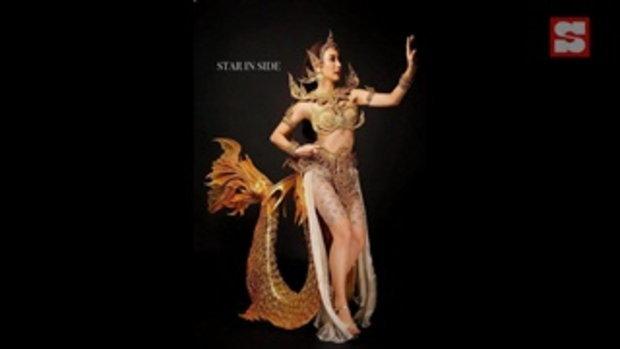"""""""น้ำเพชร ฏีญาภาร์"""" ในชุดประจำชาติไทย เตรียมผงาดเวที Miss Earth 2020"""
