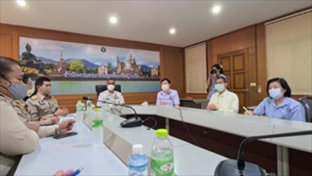 สุโขทัยแถลง ชายอินเดียป่วยโควิด-19 เที่ยวงานลอยกระทง พบผู้สัมผัสเสี่ยง 32 ราย