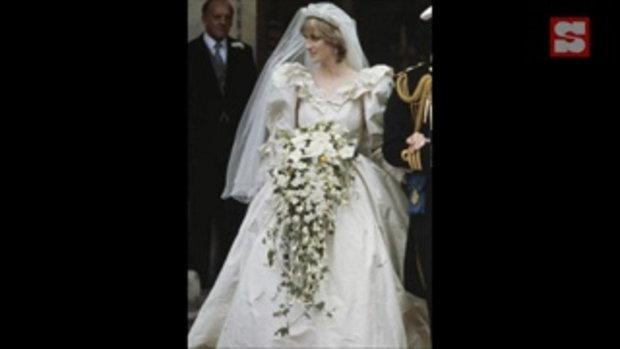 เทียบดีเทลชุดแต่งงานของไดอาน่าต้นฉบับและชุดรีเมคในซีรีส์ The Crown Season 4