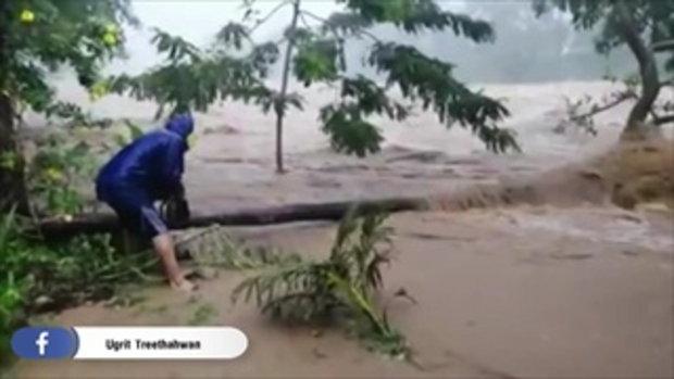 น้ำท่วมเมืองคอน อ่วมสุดในรอบ 30 ปี