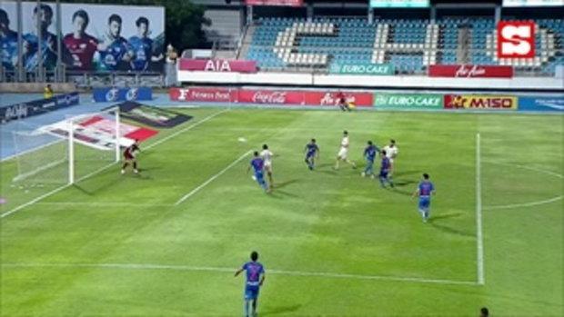 คลิปไฮไลท์ ฟุตบอลโตโยต้าไทยลีก ชลบุรี เอฟซี 0 - 2 บุรีรัมย์ ยูไนเต็ด