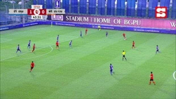 คลิปไฮไลท์ ฟุตบอลโตโยต้าไทยลีก บีจี ปทุม ยูไนเต็ด-พีที ประจวบ เอฟซี (ยาว)