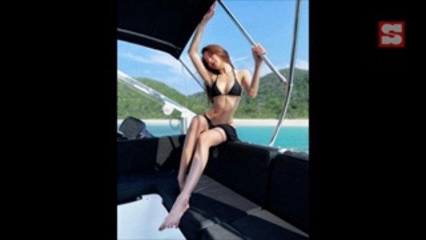 """ภาพเก่ายังเซ็กซี่ขนาดนี้ """"มุก พิชานา"""" เผยมุมแซ่บบอกคิดถึงทะเล"""