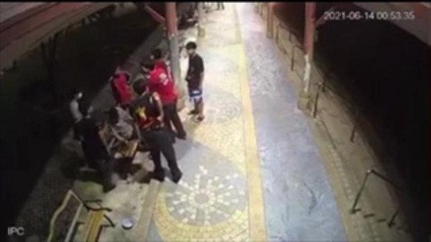 ตำรวจเตรียมนำตัวกลุ่มวัยรุ่น5คน เตะยอดหน้าลุงในวัดดังสอบปากคำ