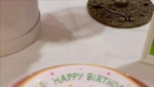 """""""โบ ชญาดา"""" ซึ้งใจมาก """"น้องอชิ"""" ทำเซอร์ไพรส์วันเกิดให้แม่เป็นครั้งแรก"""