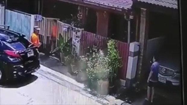 เพื่อนบ้านรั้วติดกันดวลปืนสนั่นซอยเพิ่มสิน