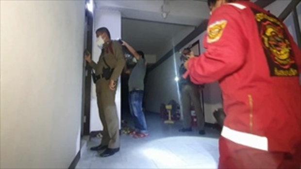 หนุ่มอินเดียใช้น้ำมันราดจุดไฟเผาตัวเอง ดับคาห้องเช่าย่านแพรกษา