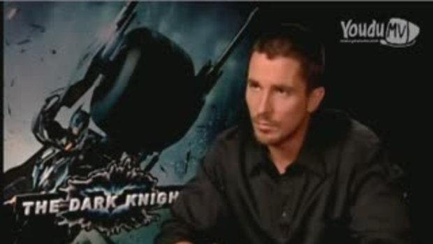 สัมภาษณ์นักเเสดงนำ The Dark Knight