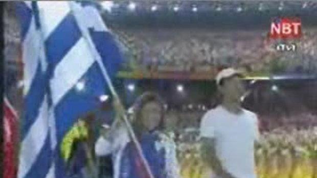 ภาพบรรยากาศการปิดกีฬาโอลิมปิก2008 (1)