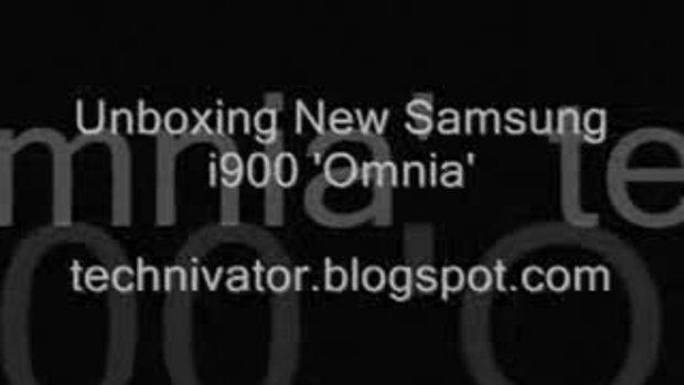 Samsung Omnia i900 ใหม่แกะกล่อง