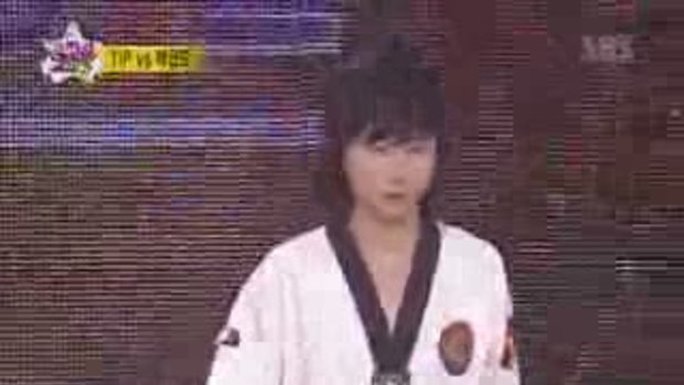 super star king เทควันโด้ VS B-Boy