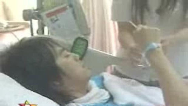 บีม โหมงานหนักจนต้องนอนโรงพยาบาล