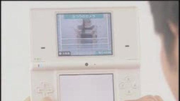 คลิปสาธิตการใช้ กล้องของ DSi เครื่อง DS รุ่นใหม่