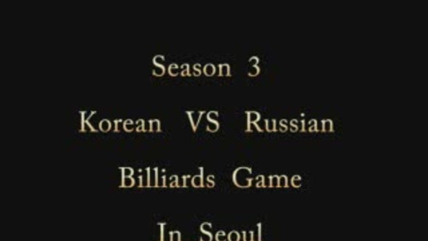 Billiards Game Season 3 : Korean vs Russian:Game 6