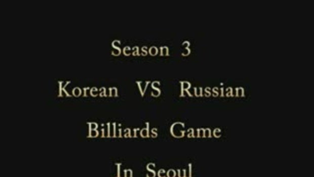 Billiards Game Season 3 : Korean vs Russian:Game 7