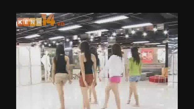 สาวๆเต้นเลียนแบบออดิชั่น