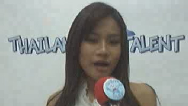 Thailand Talent : น้องแอ๊ปเปิ้ล ร้องเพลง
