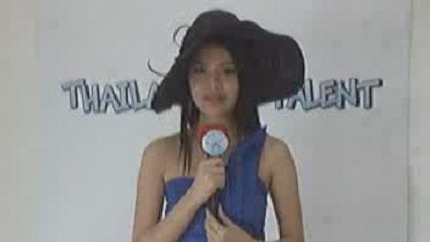 thailand talent : น้องโบตั๋น โชว์ร้องเพลง